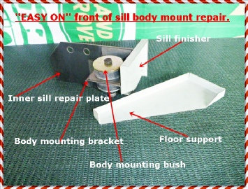 Discovery Body Mounts